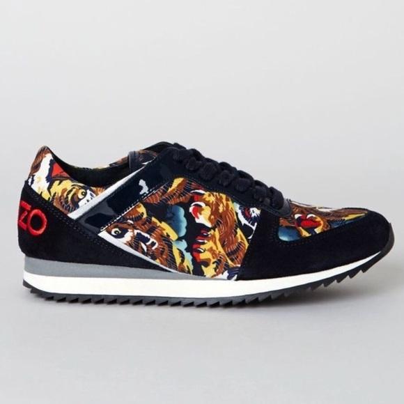 Kenzo Krun Flying Tiger Sneakers